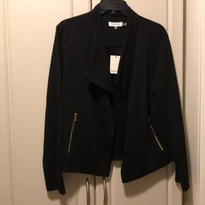 NWT Calvin Klein black blazer